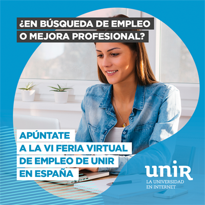 VI Feria Virtual de Empleo de UNIR