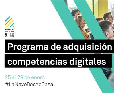 Programa de adquisición de competencias digitales y metodológicas