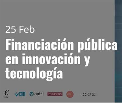 Financiación pública en innovación y tecnología