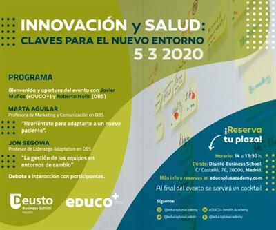 Innovación y Salud: claves para el nuevo entorno