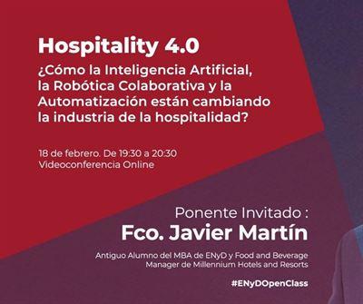 Hospitality 4.0 ¿Cómo la IA y la Automatización están cambiando la industria de la hospitalidad?