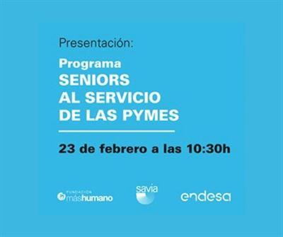 """Presentación programa """"Seniors al servicio de las pymes"""""""
